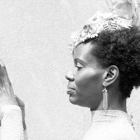 Elegant Woman by VAM Photography - Black & White Portraits & People ( b&w, woman, culture, people, fashion )