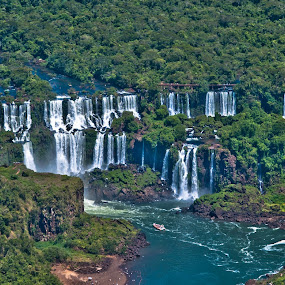 Cataratas do Iguaçu, Brazil by Francisco Andrade - Landscapes Waterscapes ( iguaçu, cataratas, brasil )