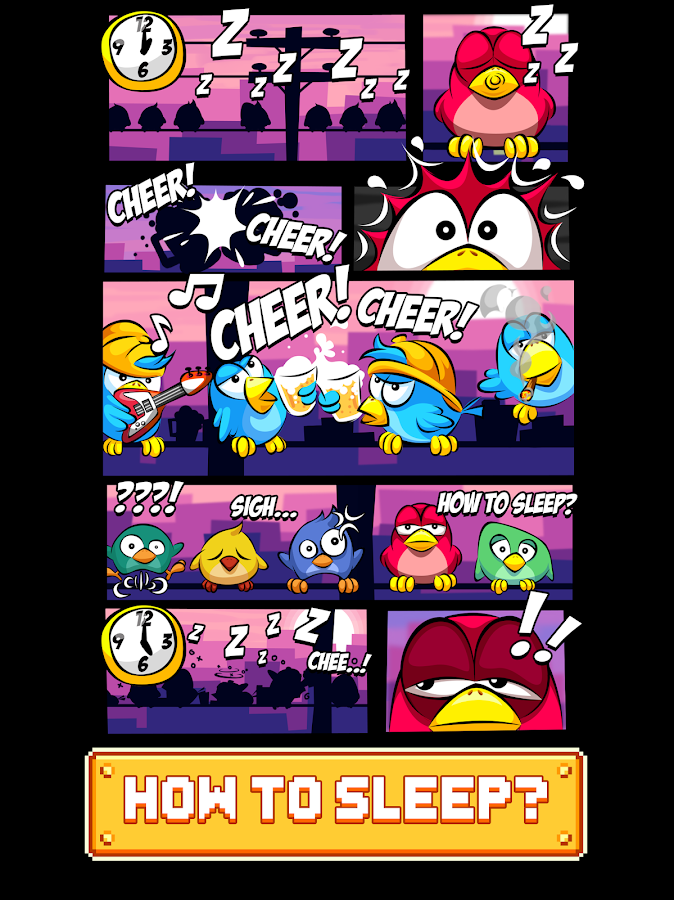 Kooky Bird - Wake Them Up! Screenshot 4