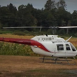 personal ride by Lavonne Ripley - Transportation Helicopters