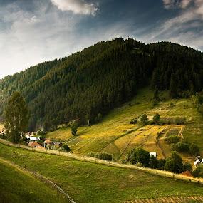 Utusoiu, Harghita by Eduard Moise - Landscapes Travel ( hills, sky, sunset, dramatic, summer, forest )
