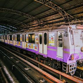 by Soumyadip Ghosh - Transportation Trains