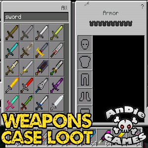 Weapons Case Loot Mod for MCPE For PC / Windows 7/8/10 / Mac – Free Download