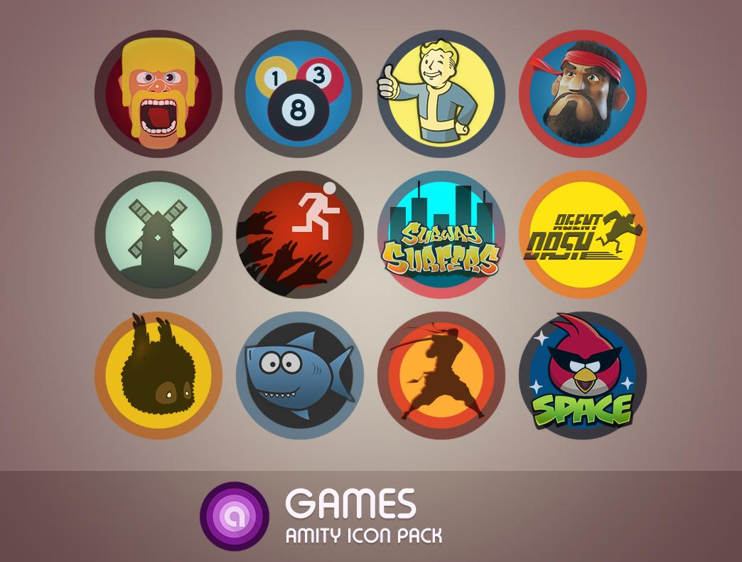 Amity Icon Pack Screenshot 4