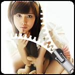 Girl Zip locker theme - Best Zipper lockscreen app Icon
