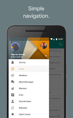 Talon for Twitter (Plus) 5.8.3 Patched Apk