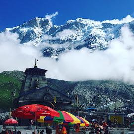 Baba Kedar by Amit Sharma - Instagram & Mobile iPhone ( #kedar #mountains #trekking #kedardome )