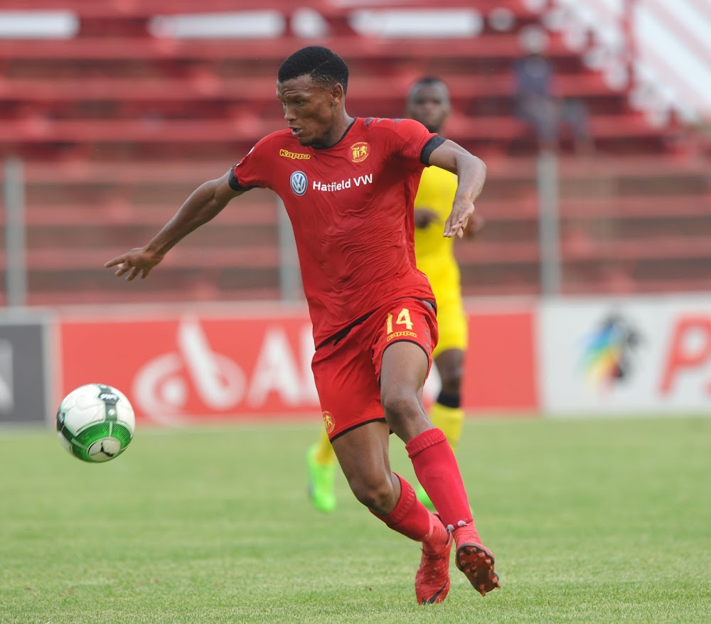 Highlands Park's Owen da Gama can't stop raving about Mothobi Mvala