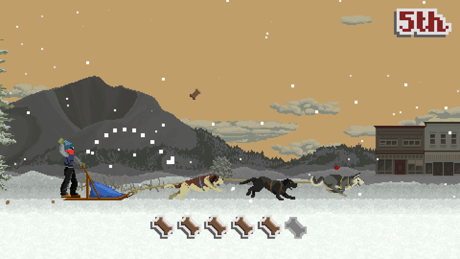 Dog Sled Saga Screenshot 3