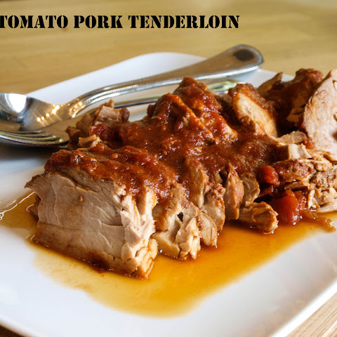 Spicy Tomato Pork Tenderloin