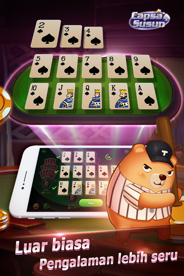 Capsa Susun(Free Poker Casino) Screenshot 7