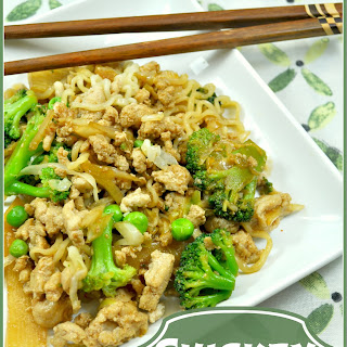 Chicken and Ramen Stir-Fry