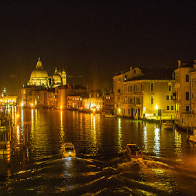 Venice by night by Oguz Sevim - Buildings & Architecture Public & Historical ( venice )