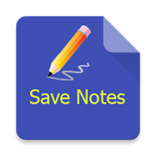 Save notes