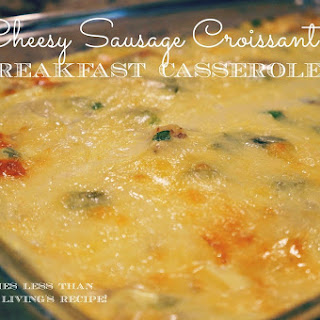 Sausage Breakfast Casserole With Croissants Recipes