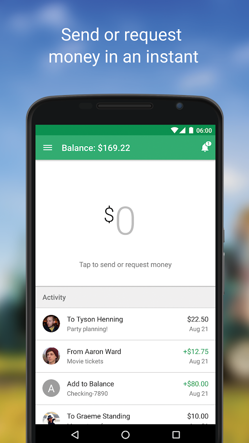 Google Wallet Screenshot 0