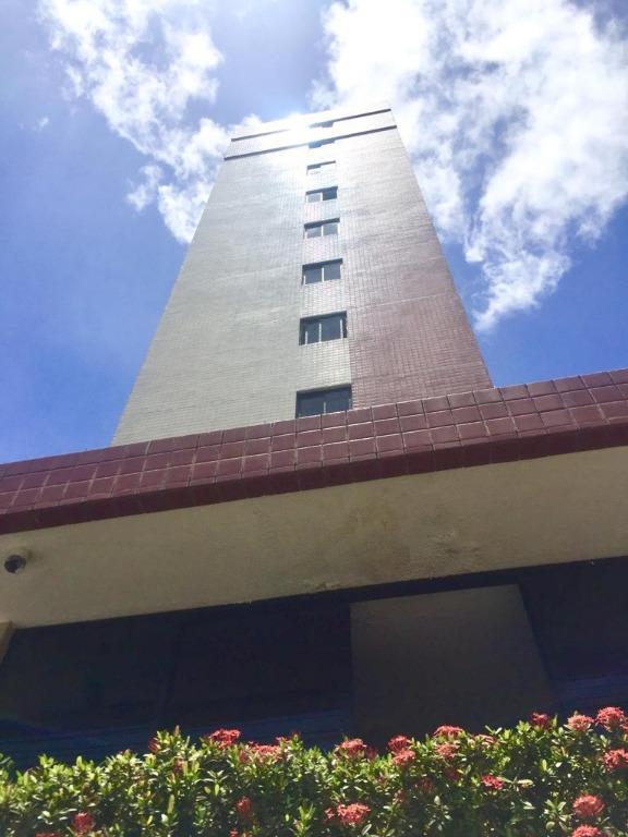 Apartamento com 2 dormitórios para alugar, 64 m² por R$ 900,00/mês - Manaíra - João Pessoa/PB