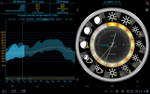 EWeather HD, Radar, Alerts - screenshot