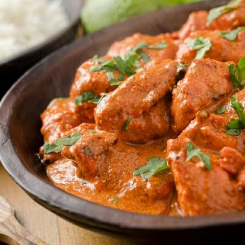 HEALTHY SLOW COOKER BUTTER CHICKEN