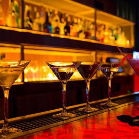 Martinis at the W by Stéphane Vaillancourt - Food & Drink Alcohol & Drinks ( hôtel w, party ddr ii wii, octobre 2011, montréal, lancement dance dance revolution ii, konami )