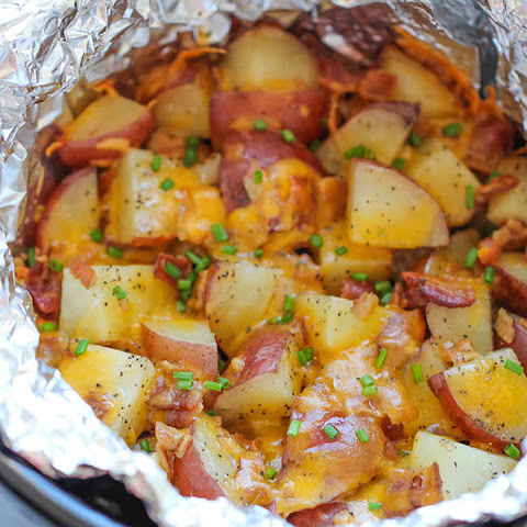 #19. Bacon Cheese Potatoes