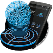 App 3D Neon Tech Light Ball Theme APK for Windows Phone