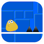 Download Full Geometry Pou Dash  1.0 APK