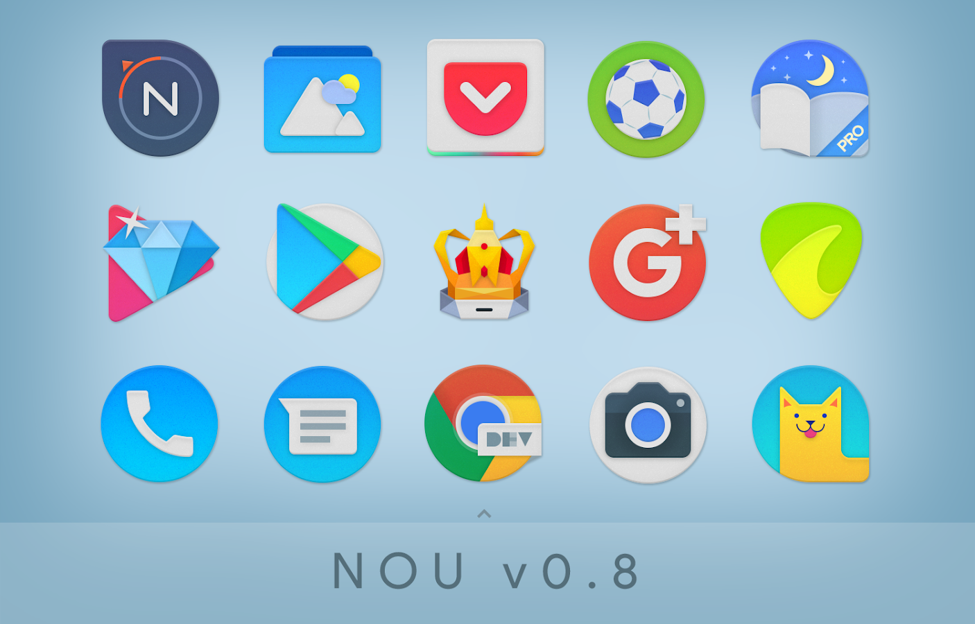 NOU - Icon Pack Screenshot 2