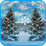 Winter and snowfall Icon
