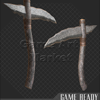 [Game Ready] Stone Pickaxe