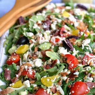 3-Cheese Loaded Italian Salad