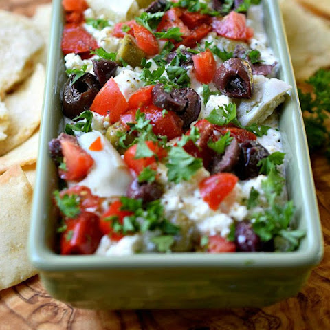 Mediterranean Cottage Cheese Dip
