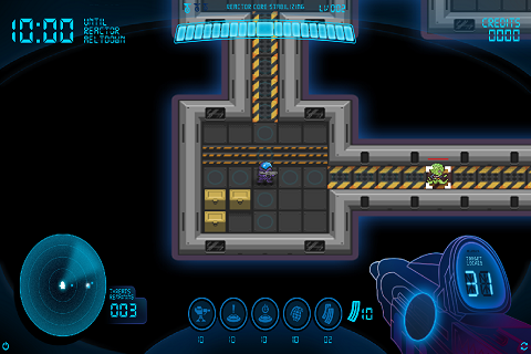 Super Space Meltdown Screenshot 1