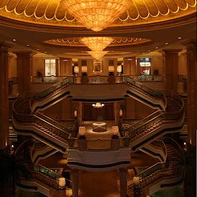 Emirates Palace by Maryam Peiravi - Buildings & Architecture Office Buildings & Hotels ( indoor, uae, emirates palace, abu dhabi, hotel )