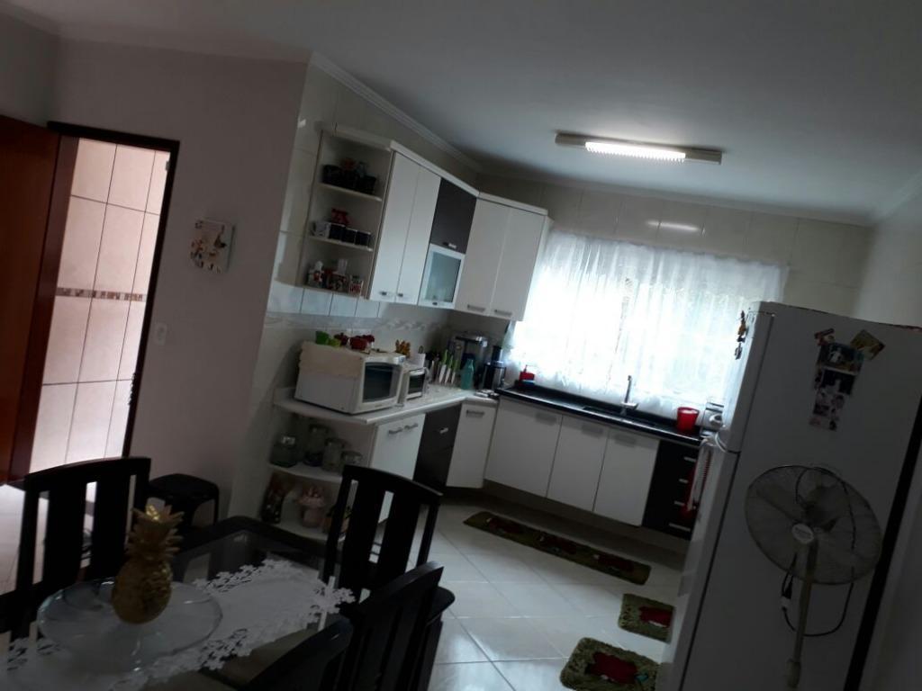 Sobrado com 3 Suítes à venda, e permuta - Vila Lucinda - San