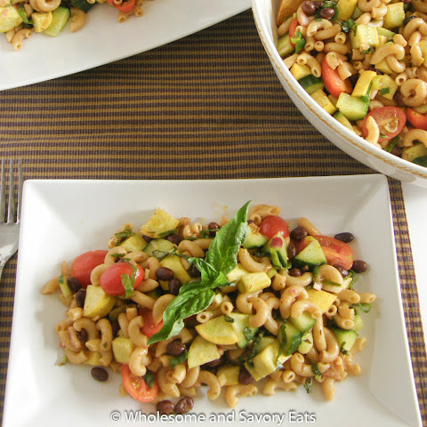 Zesty Vegetable Pasta Salad