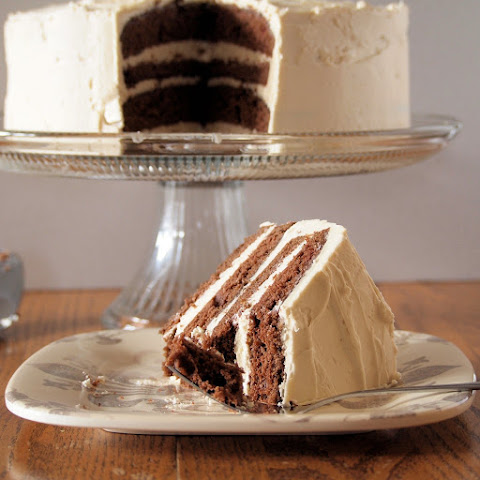 Mocha Torte with Baileys Buttercream