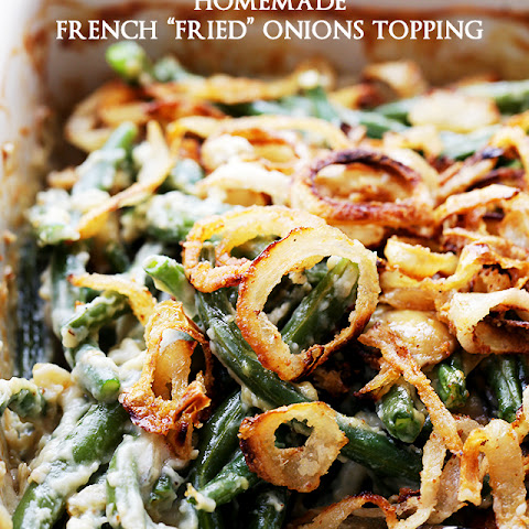 "Homemade French ""Fried"" Onions Topping"