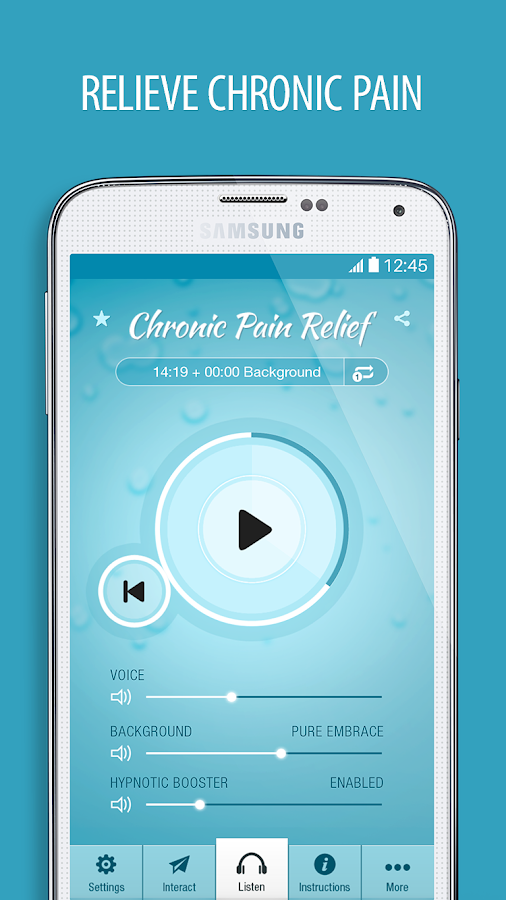Pain Relief Hypnosis Pro Screenshot 4