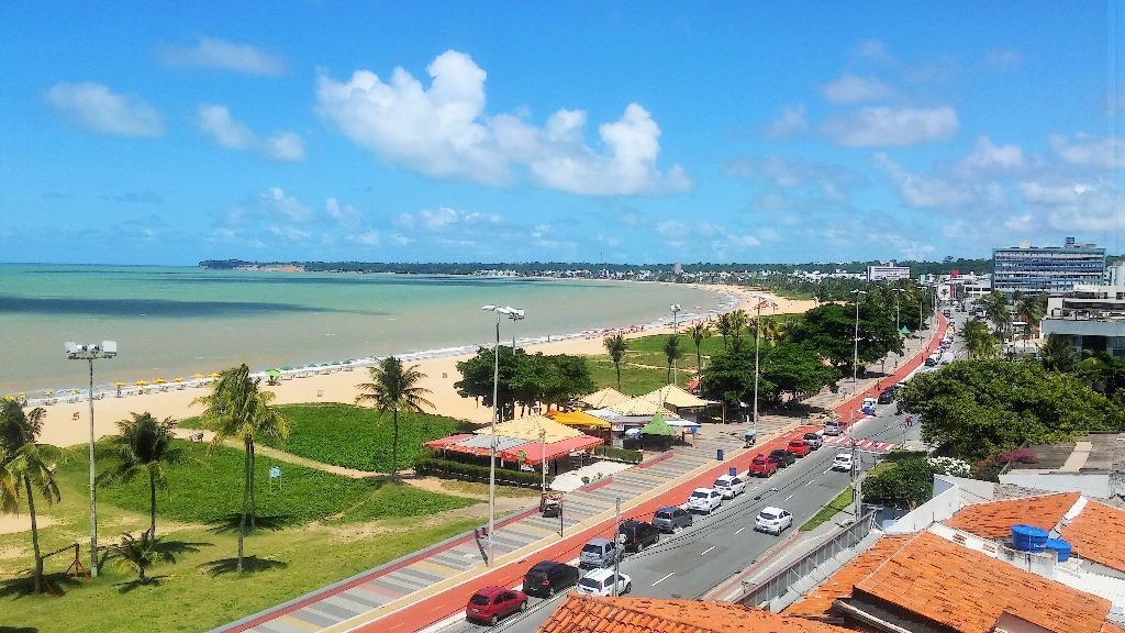 Flat com 1 dormitório para alugar, 38 m² por R$ 1.500,00/mês - Cabo Branco - João Pessoa/PB