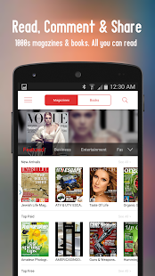 eMag+ Digital Newsstand - screenshot