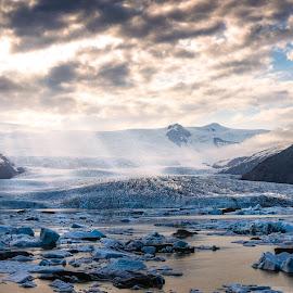 Fjallsarlon Glacier Lagoon, Iceland by Marc Sharp - Landscapes Mountains & Hills ( iceland )