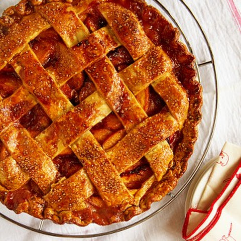 Butterscotch Peach Pie