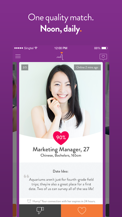 LunchClick - Free Dating App Screenshot 1