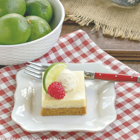 Key Lime Pie Bars #GuestPost #SkinnyTip