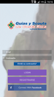 Guías y Scouts de Costa Rica - screenshot