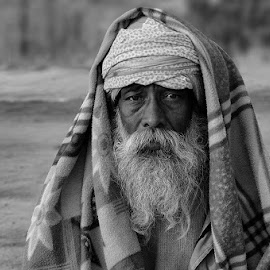 Holy man -III by Kaushik Dolui - People Portraits of Men ( portrait )