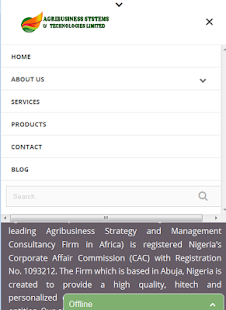 Agribusiness Systems - screenshot