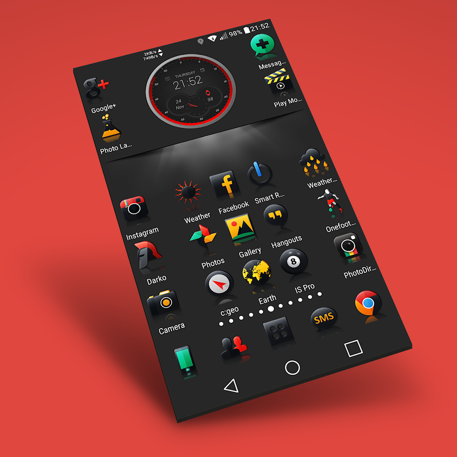 Darko 2 - Icon Pack Screenshot 9