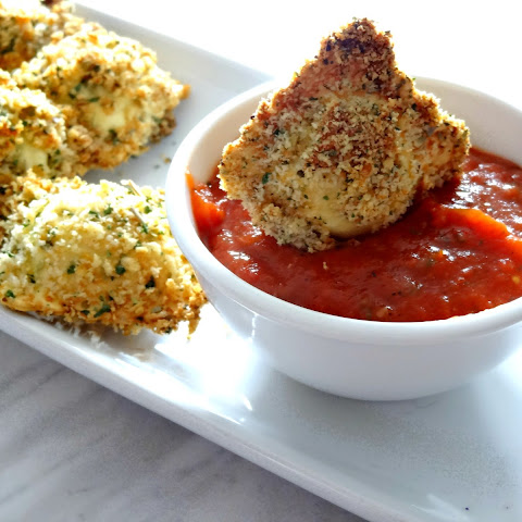 Baked Ravioli Appetizers